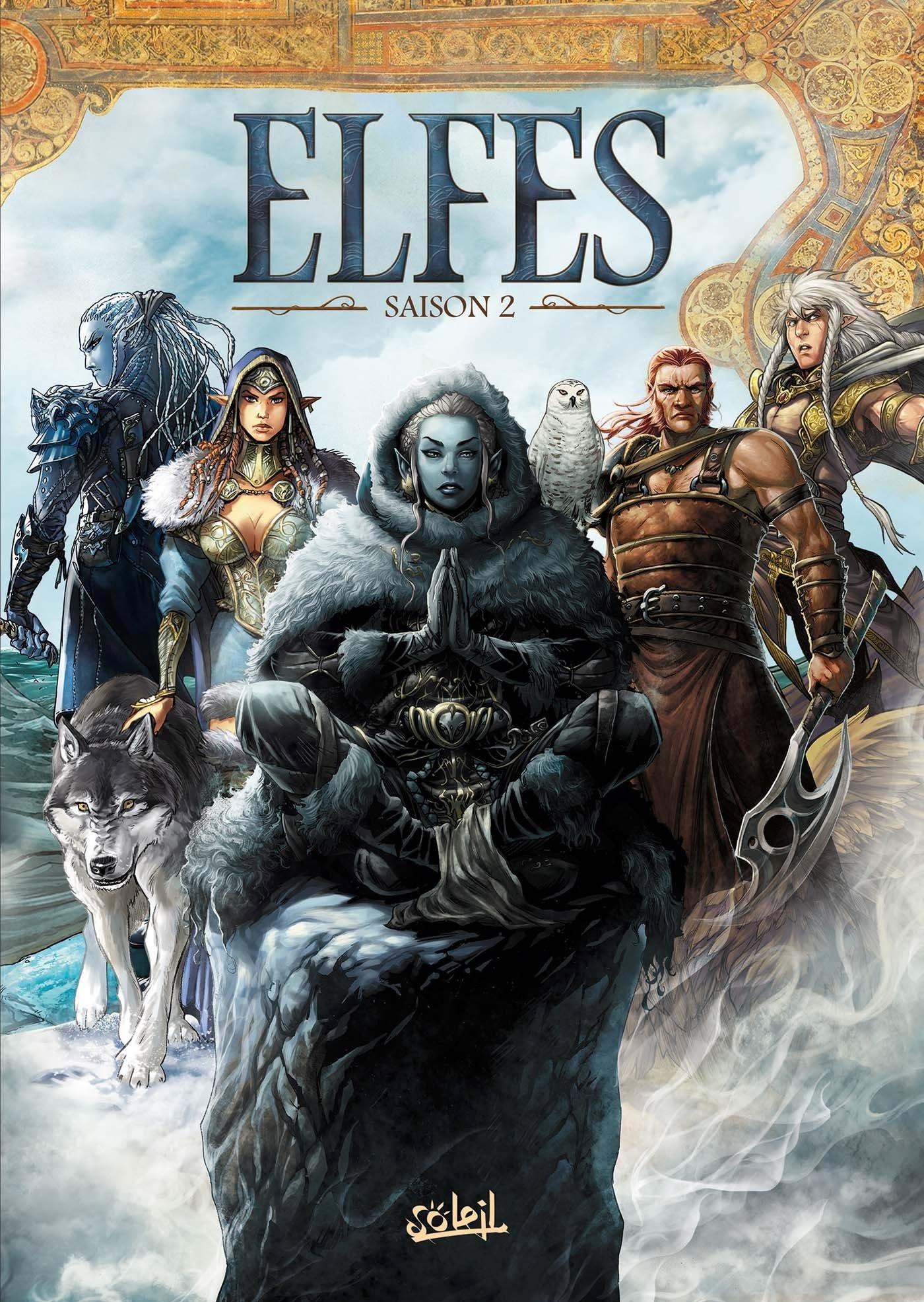 bande dessinee les elfes