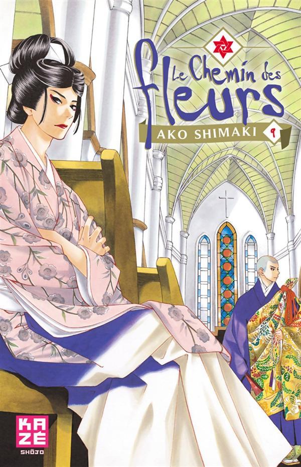 le chemin des fleurs 9 édition simple - kazé manga - manga sanctuary