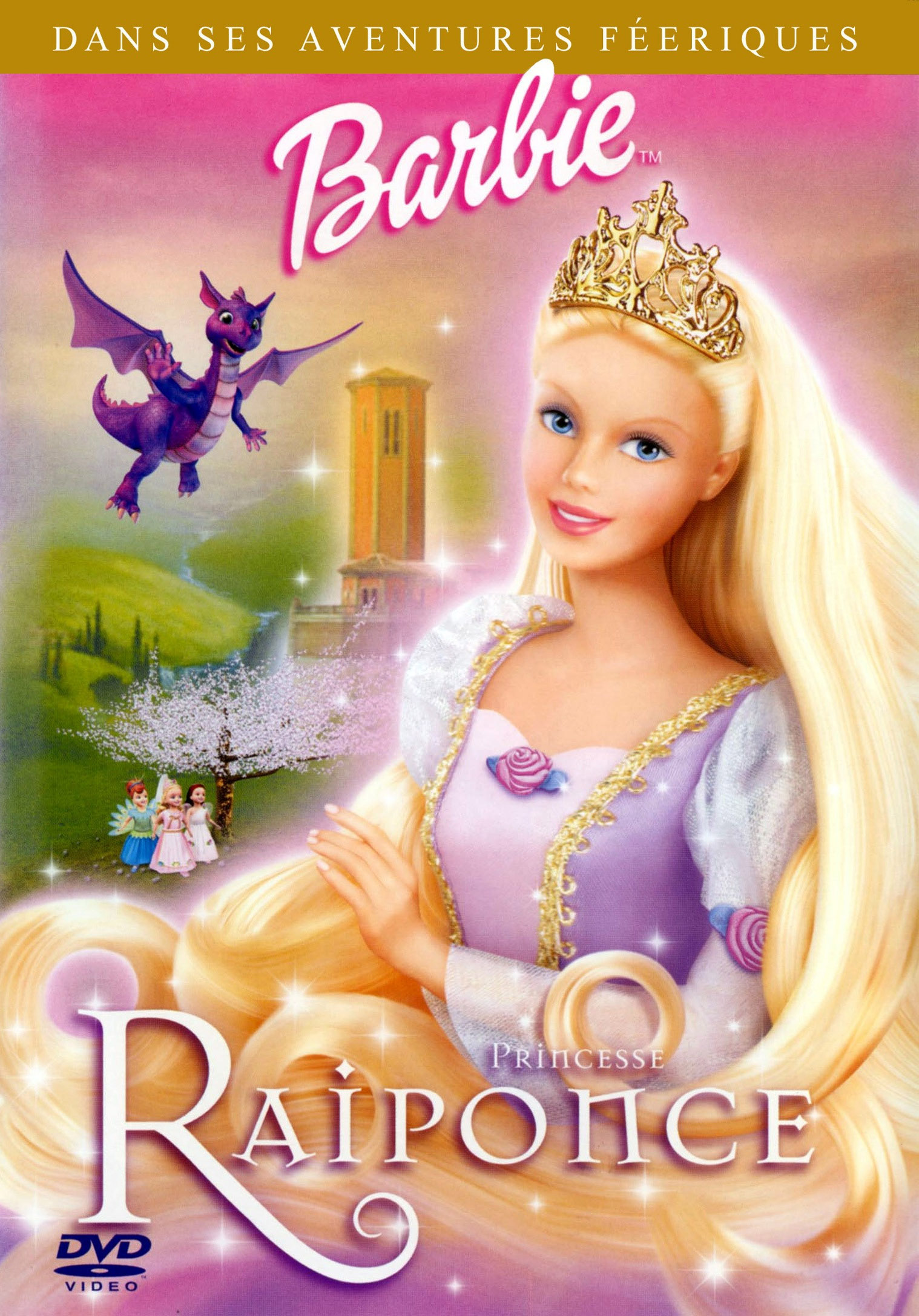 Barbie princesse raiponce film cin sanctuary - Princesse raiponce ...