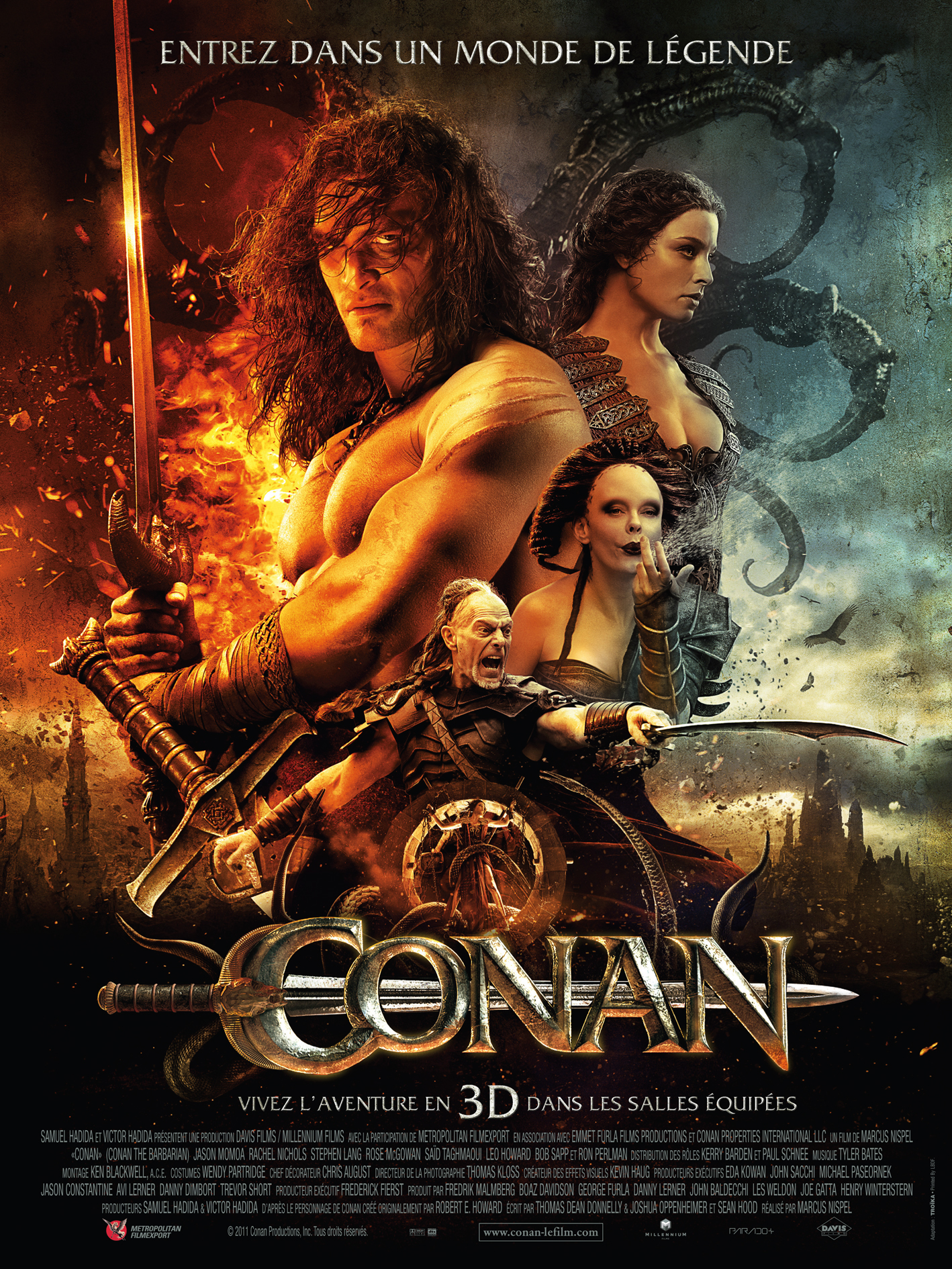 Top Conan - Film - Ciné Sanctuary OV84