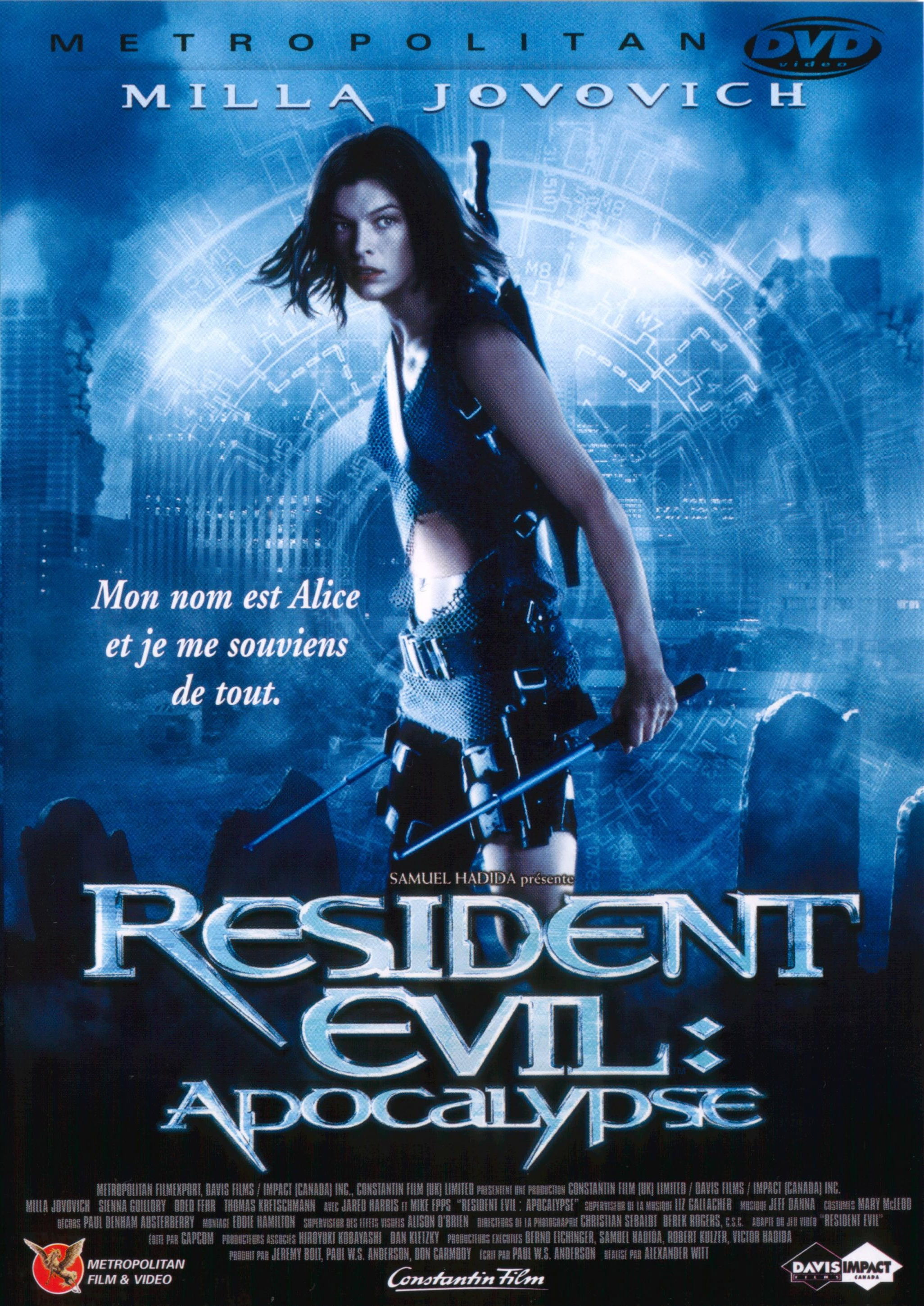 affiche film Resident Evil : Apocalypse