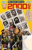 Free Comic Book Day 2017 - 2000 AD