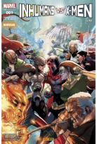 Comics - Inhumans Vs. X-Men