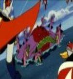 Grendizer, Getter Robo G, Great Mazinger Kessen Dai Kaiju