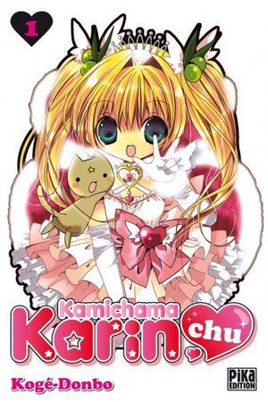 Kamichama Karin Chu Manga
