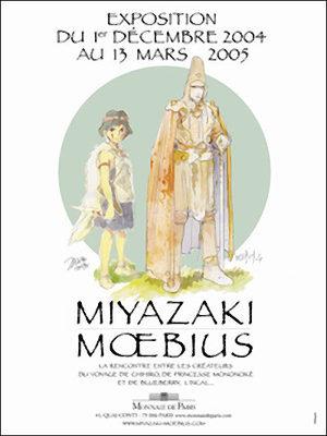 Miyazaki, Moëbius, deux artistes dont les dessins prennent vie