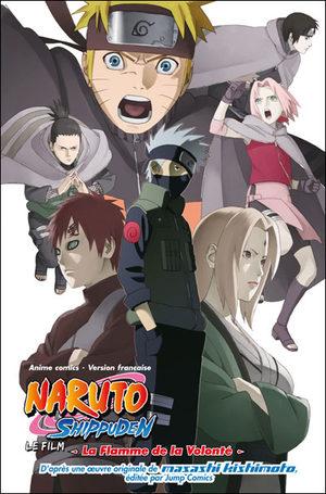 Naruto Shippuden - La Flamme de la Volonté Anime comics