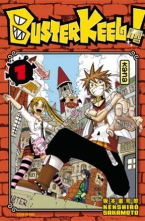 Buster Keel ! Manga