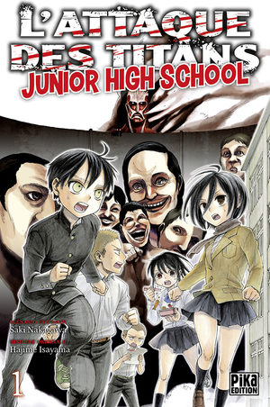 L'attaque des titans - Junior high school Manga