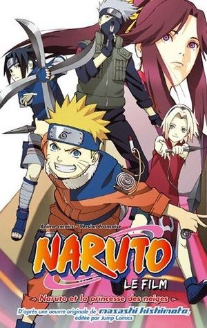 Naruto - Naruto et la Princesse des Neiges Anime comics