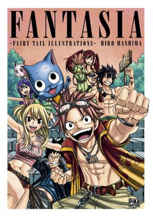 Fantasia - Fairy Tail Illustrations - Artbook