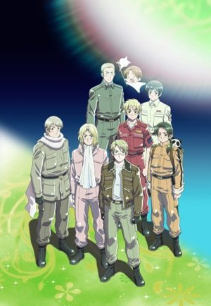 Hetalia - Axis Powers : Paint it, White
