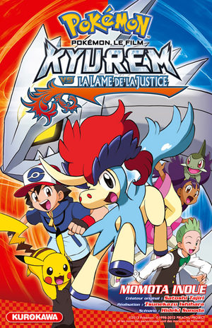 Pokémon : Kyurem vs La lame de la Justice Manga