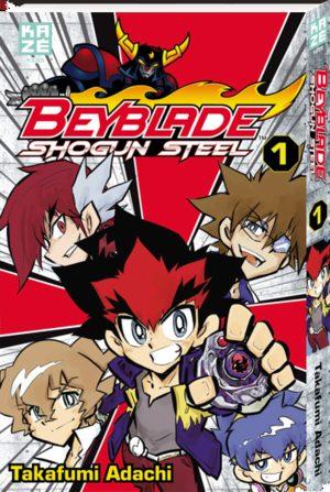 Beyblade Shogun steel Manga