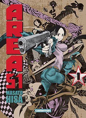 Area 51 Manga