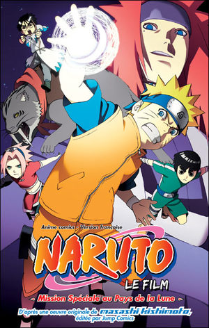 Naruto - Mission Spéciale au Pays de la Lune Anime comics