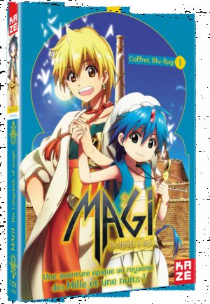 Magi - The Labyrinth of Magic Série TV animée