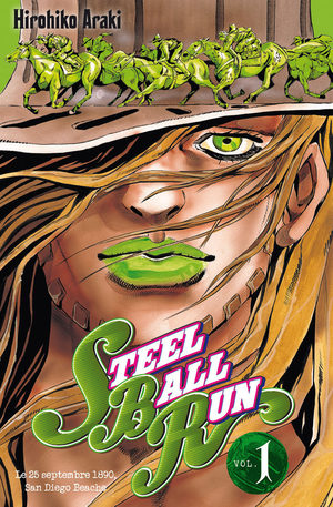 Jojo's Bizarre Adventure - Steel Ball Run Manga