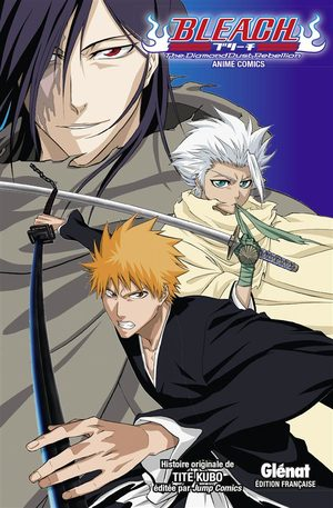 Bleach - The Diamond Dust Rebellion Anime comics