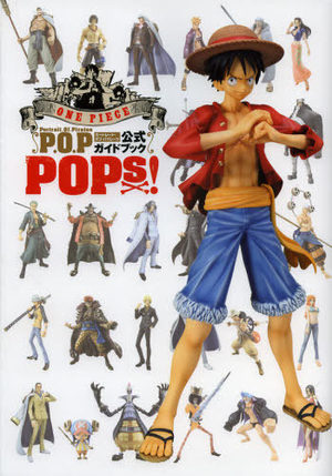 One piece portrait of pirates official guidebook pops !