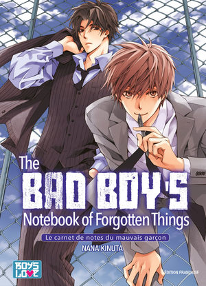 The bad boy's notebook of forgotten things - Le carnet de notes du mauvais garçon Manga