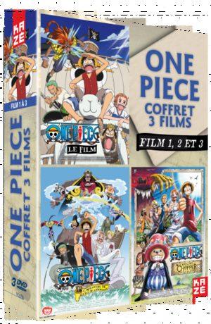 One Piece - Films (coffrets par 3)