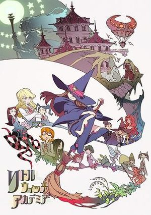 Little Witch Academia Manga