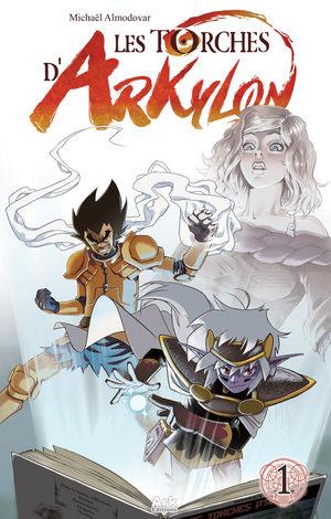 Les torches d'Arkylon Global manga