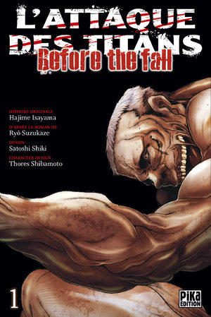 L'Attaque des Titans - Before the Fall Manga