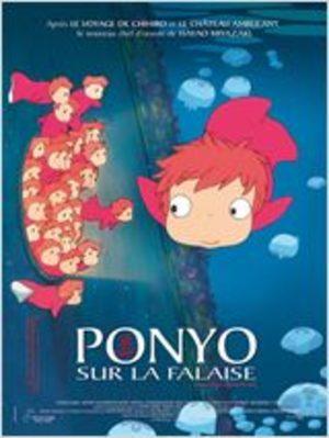 Ponyo sur la falaise Film