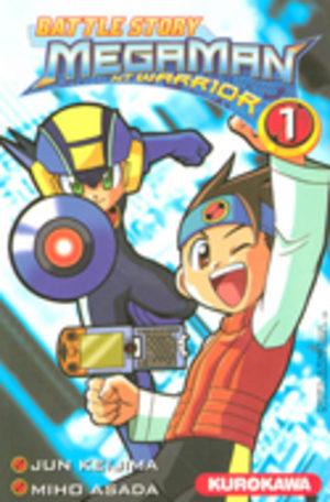 Megaman NT Warrior Manga