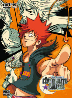 Dreamland Global manga