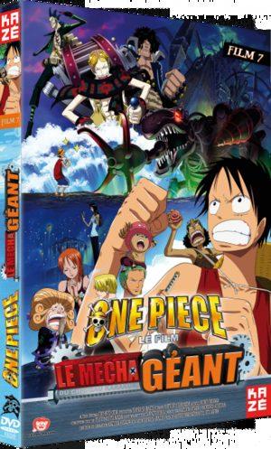 One Piece - Film 07 : Le Mécha Géant Du Chêteau Karakuri