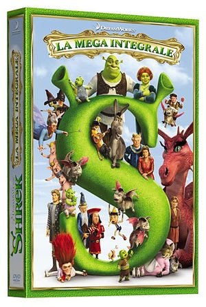 Shrek - Intégrale 4 films