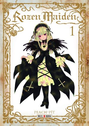 Rozen Maiden Anime comics