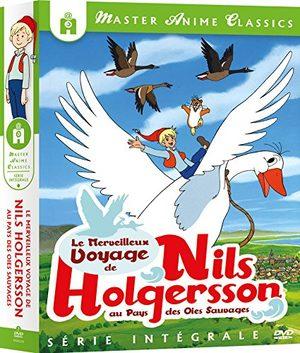 Le Merveilleux Voyage de Nils Holgersson aux Pays des Oies Sauvages Série TV animée