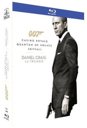 James Bond - Daniel Craig, la trilogie