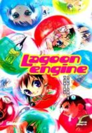 Lagoon Engine Manga