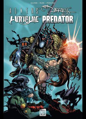 Aliens - Darkness - Witchblade - Predator