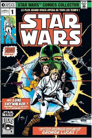Star Wars comics collector
