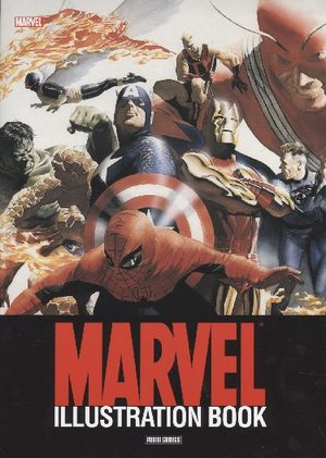 Marvel Illustration Book