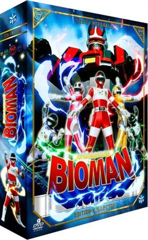 Bioman Série TV animée