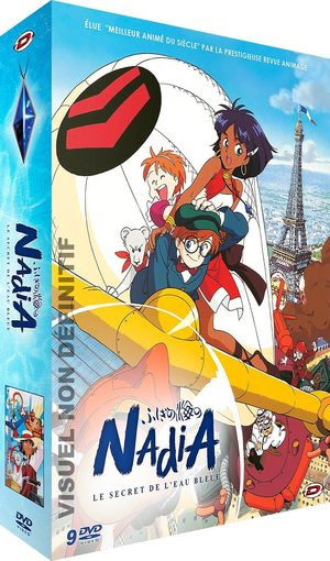 Nadia & le secret de l'eau bleue Artbook