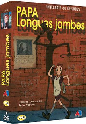 Papa Longues Jambes Série TV animée