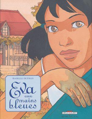 Eva aux mains bleues