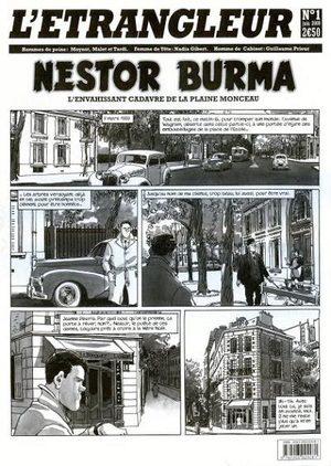 L'étrangleur - Nestor Burma - L'envahissant cadavre de la Plaine Monceau
