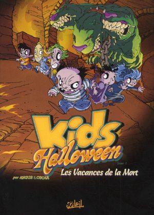 Les kids Halloween