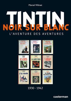 Tintin - Noir sur blanc
