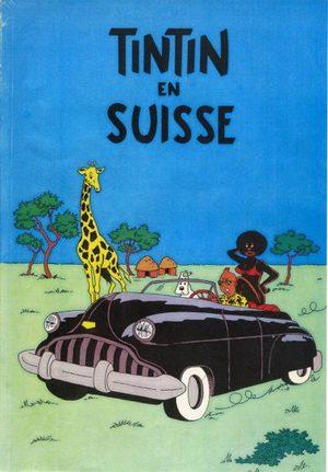 Les aventures de Tintin en Suisse