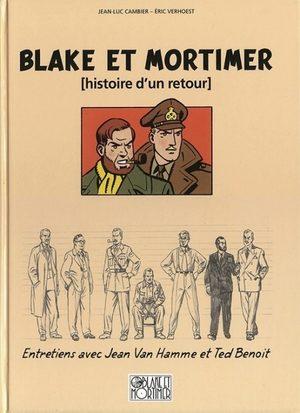 Blake et Mortimer - Histoire d'un retour